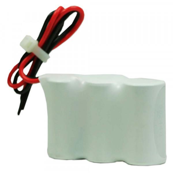 Batterijpakket 3.6V 1500mAh serie NiCd F3x1 3xSub-C Hoge temperatuur cellen/kabel