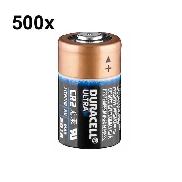 Duracell ULTRA CR2 3V Primary Lithium CR17355 Photo Battery 500 Bulk (1 VPE)
