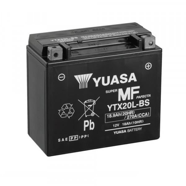 Yuasa YTX20L-BS YU motorbatterij (batterij)