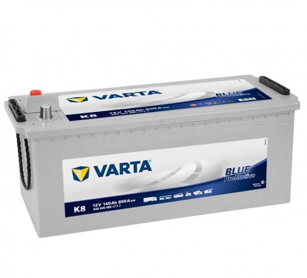 VARTA Promotive SHD 640 400 080 A732 K8 12Volt 140 Ah 800A/EN start accu