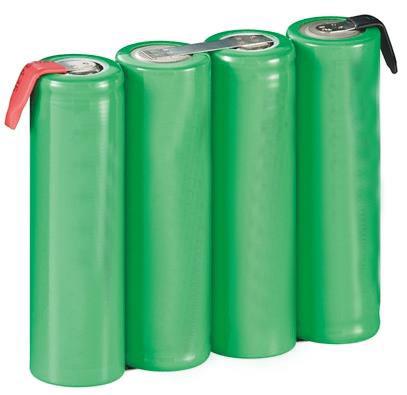 Batterijpakket 4,8V 2100mAh NiMH F4x1 Mignon AA met soldeervlag