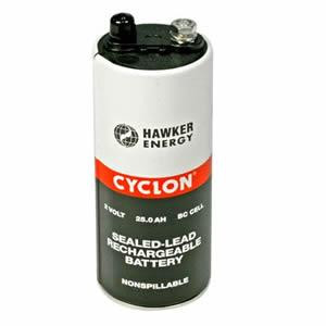 Hawker EnerSys Cyclon 0820-0004 2V 25 Ah (10h) loodaccu BC cel