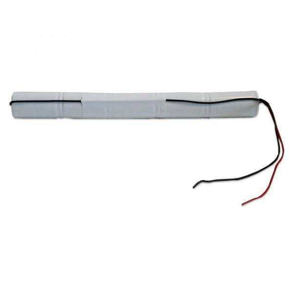 Batterij pack 6V 4500mAh staaf NiCd L5x1 5xD hoge temperatuur cellen/kabel