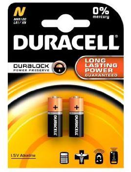 Duracell Lady LR1 batterij N MN9100 1,5V (2 blisterverpakking)