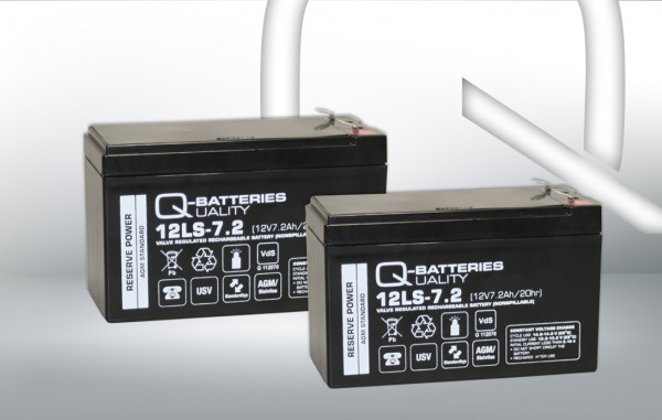 Vervangingsbatterij voor AdPoS Micro 1200/brandbatterij met VdS