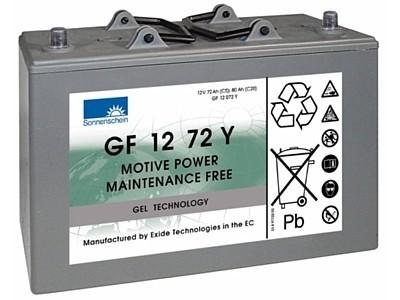 Exide Sonnenschein GF 12 072 Y dryfit gel drive accu 12V 72 Ah (5h) VRLA