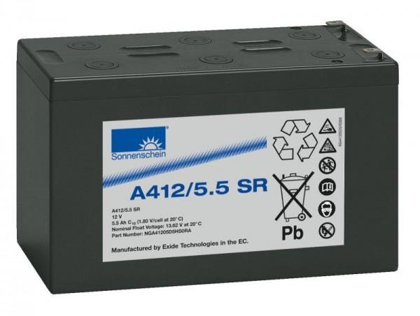 sonnenschein A412/5,5 SR 12V 5,5 Ah dryfit loodgel accu VRLA