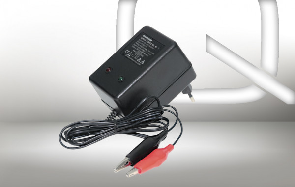 Q-Batteries BL 12-1 Charger voor loodaccus 12V – 1A Charging current IU0U Charging character