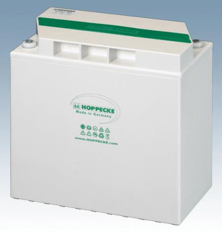 Hoppecke 5 OPzV 250 power.bloc 6V 253 Ah (10C) lood – gel batterij VRLA gesloten, onderhoudsvrij