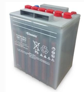 Exide Classic Energy Bloc EB 1260 loden accu 12V 61 Ah voor UPS
