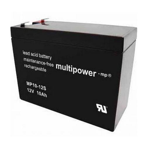 Multipower MP10-12S/12V 10 Ah lood batterij AGM