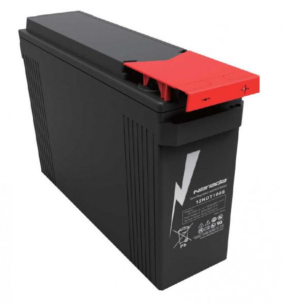 Q-Batteries door Narada 12NDT100S/12V 100 Ah Front terminal lood accu/lood non spillable accu VRLA 1