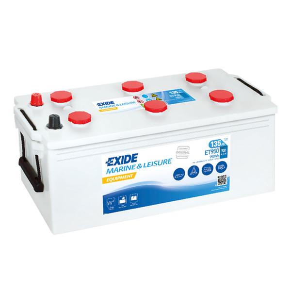 Exide ET 950 (vervangt 960 51) 12V 135AH loodzuur – batterij semitractie