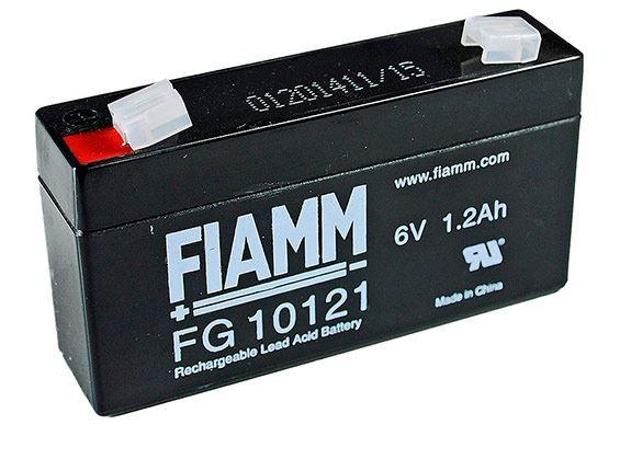FIAMM FG10121 6 V 1,2 Ah loodaccu/loodaccu/AGM lood non spillable
