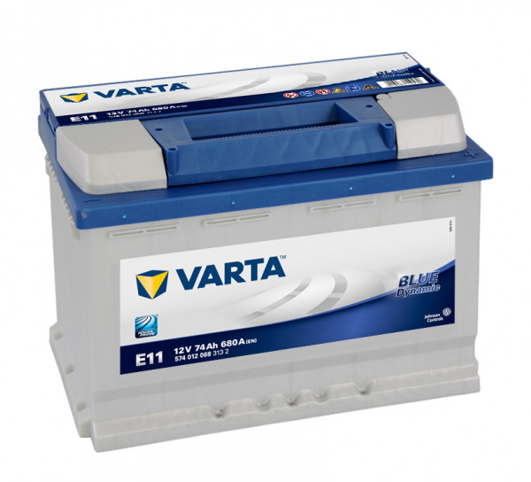 VARTA BLUE Dynamic 574 012 068 3132 E11 12Volt 74 Ah 680A/EN start accu