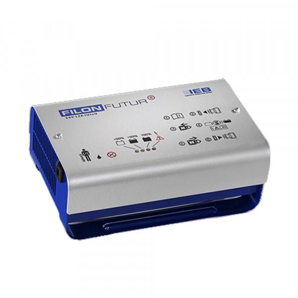 IEB Filon Futur S E230 G24/10 B65-FP (AC-net) voor loodbatterij 24V 10A Oplaadstroom HF lader