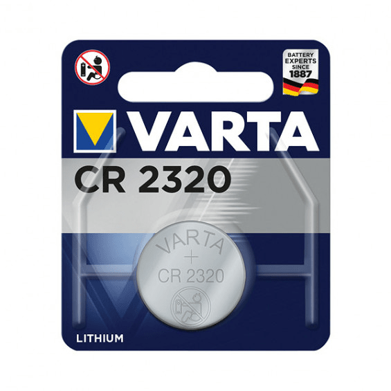 VARTA Electronics CR2320 Lithium Button Cell 3V (1 blisterverpakking) UN3090