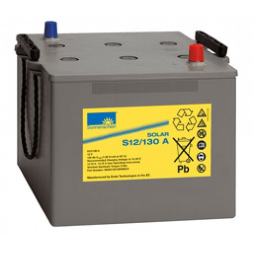 Exide Sonnenschein Solar S12/130 A Lead Gel Battery 12V 130 Ah