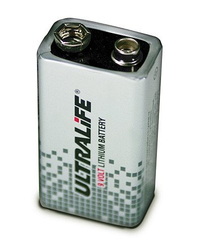 Ultralife U9VL-J-P – 9V blok Power Cell Lithium Batterij 9V 1200mAh UN3090