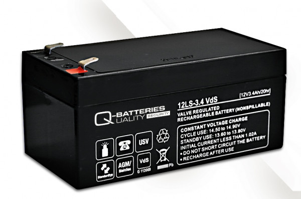 Vervangingsbatterij voor APC Back-UPS ES BE325-GR RBC47 RBC 47/brandbatterij met VdS