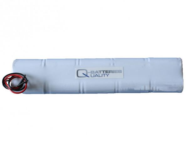 Batterij pack 12V 2500mAh staaf NiCd L5x2 10xC hoge temperatuur cellen/kabel