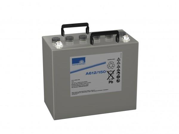 Exide Sonnenschein A612/150 12V 150 Ah (C10) dryfit lead gel accu VRLA