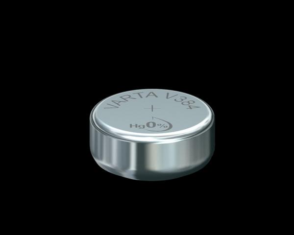 VARTA Watch V384 SR41 1.55 V Watch batterij 40mAh (1 Blister)