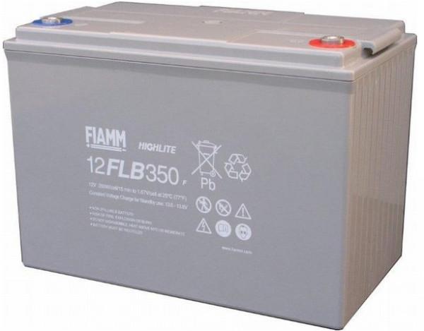 FIAMM HIGHlite 12FLB350P 12V 95 Ah AGM lood non spillable 10-12 jaar accu