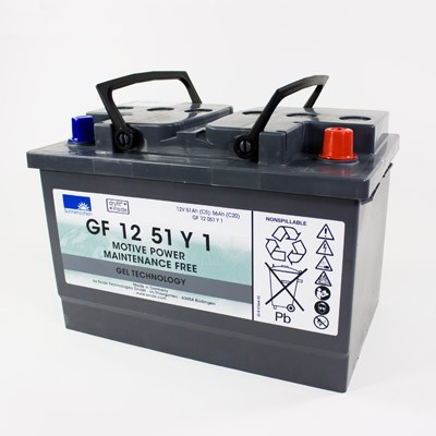 Exide Sonnenschein GF 12 051 Y 1 dryfit loodgel tractie accu 12V 51 Ah (5h) VRLA