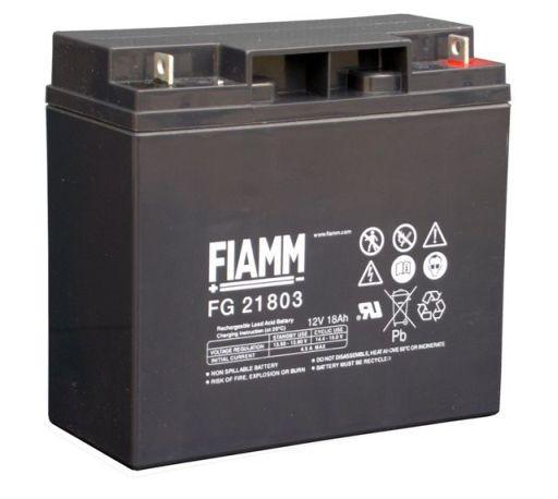 FIAMM FG21803 12V 18 Ah loodaccu/loodaccu/AGM lood non spillable