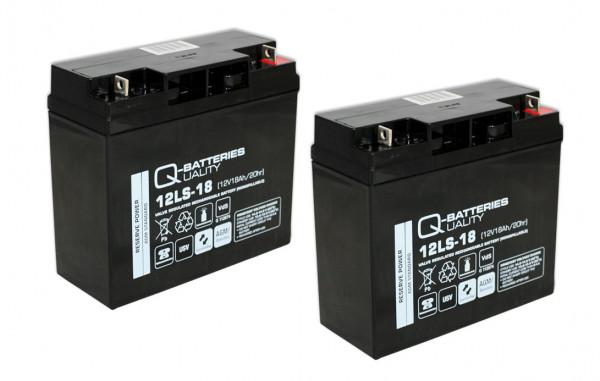 Vervangingsbatterij voor APC Smart-UPS XL SU700XLINET RBC7 RBC 7/brandbatterij met VdS