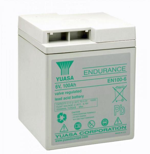 Yuasa EN100-6102 Ah (10u) 6V lood accu EN serie AGM accu