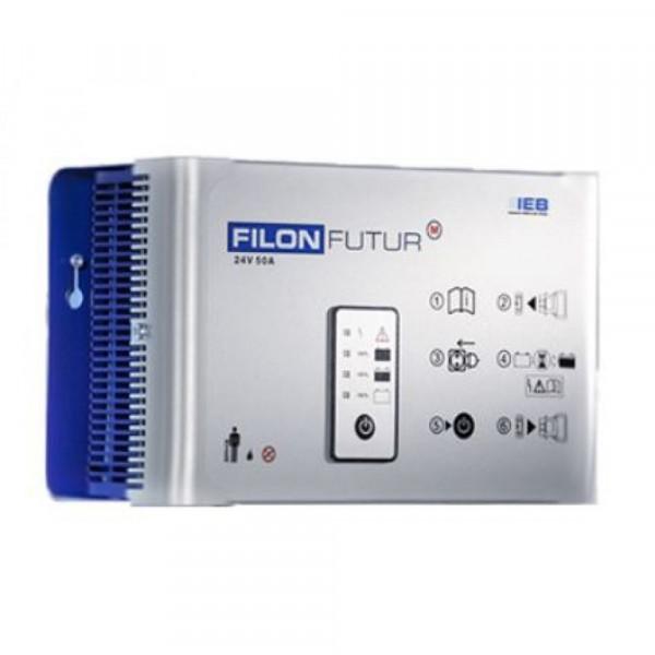 IEB Filon Futur M E230 G24/25 B50-FP (AC-net) voor loodbatterij 24V 25A Oplaadstroom HF lader