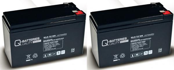 Vervangingsbatterij voor APC Smart-UPS SUA750R2IX38 RBC 22/brandbatterij met VdS