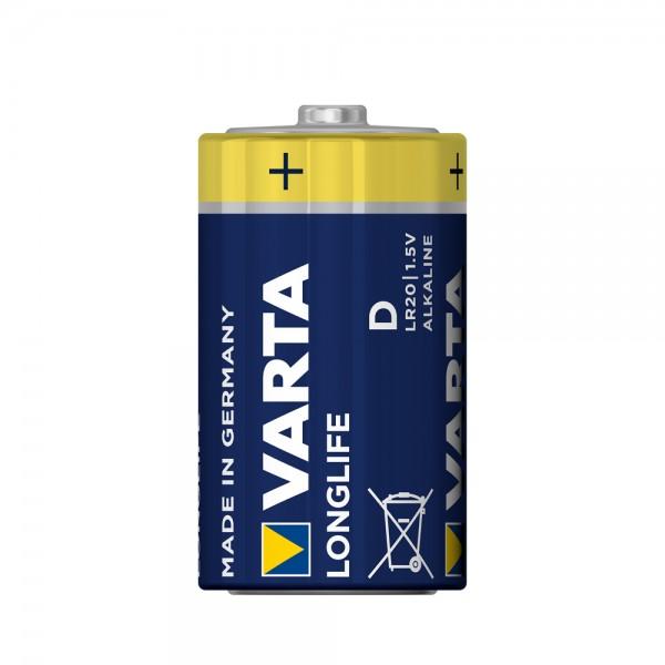 VARTA Longlife Mono D batterij 4120 LR20 (minder)