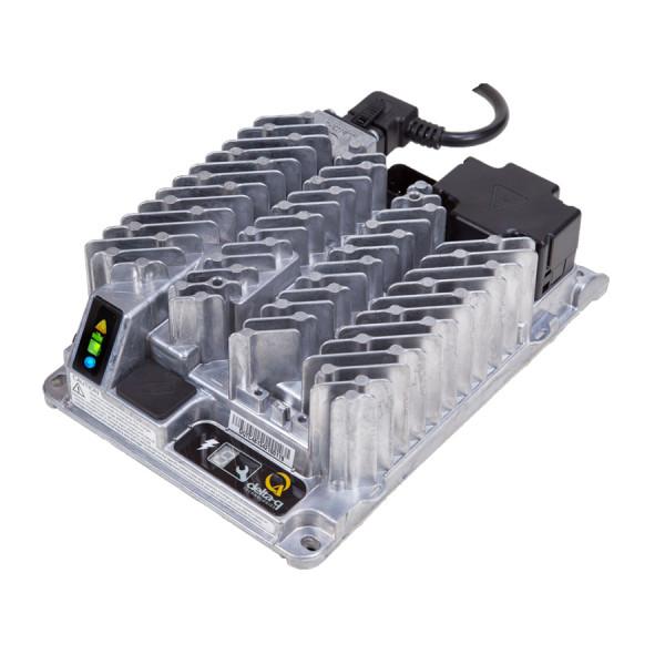 Delta-Q Industriële lader IC650 voor 36V lood- en lithiumbatterijen 18A laadstroom met stekker, zond