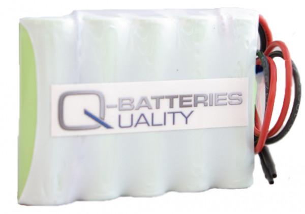 Batterij pack 6V 1600mAh serie NiMH F5x1 5xAA industriële cellen/kabel
