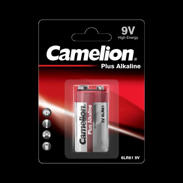 Camelion PLUS 6LR61 6LF22 9V blok alkalinebatterij (blister)