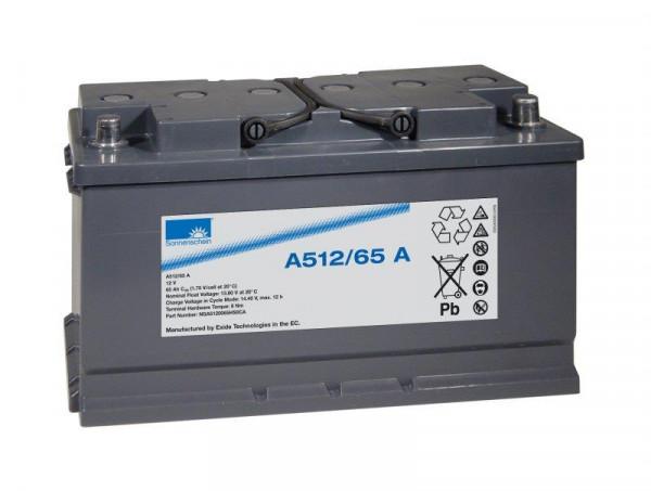 Exide sonnenschein A512/65 A 12V 65 Ah dryfit loodgel accu VRLA