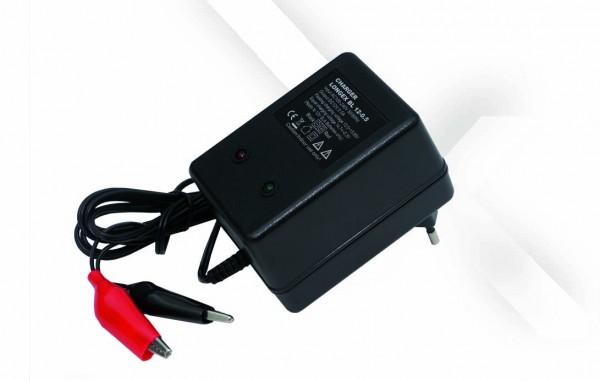 Longex BL 12-0.5 Oplader voor loodbatterijen 12V – 0,5A Oplaadstroom IU0U Oplaadkarakteristiek