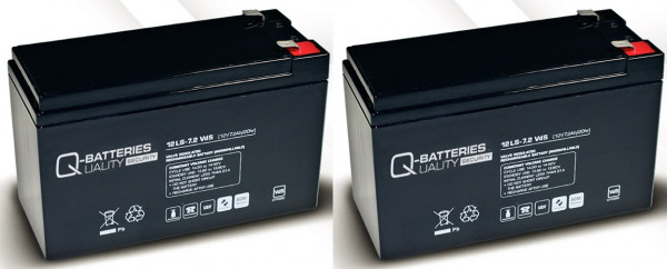 Vervangingsbatterij voor APC Smart-UPS SU700RMI2U RBC 22/brandbatterij met VdS