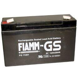 FIAMM FG11201 6 V 12 Ah loodaccu/loodaccu/AGM lood non spillable VdS