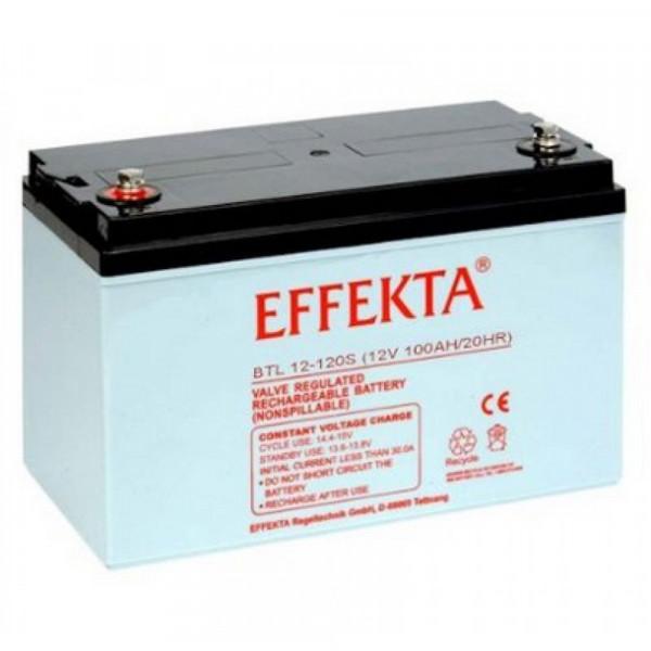 EFFEKTA BTL 12-120 S 12V 120 Ah loodaccu/lood non spillable accu AGM VRLA