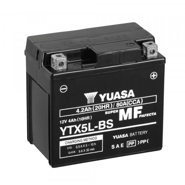 Yuasa YTX5L-BS YU motorbatterij (batterij)
