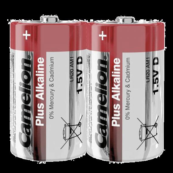 Camelion PLUS LR20 Mono D Alkaline batterij (2 folie)