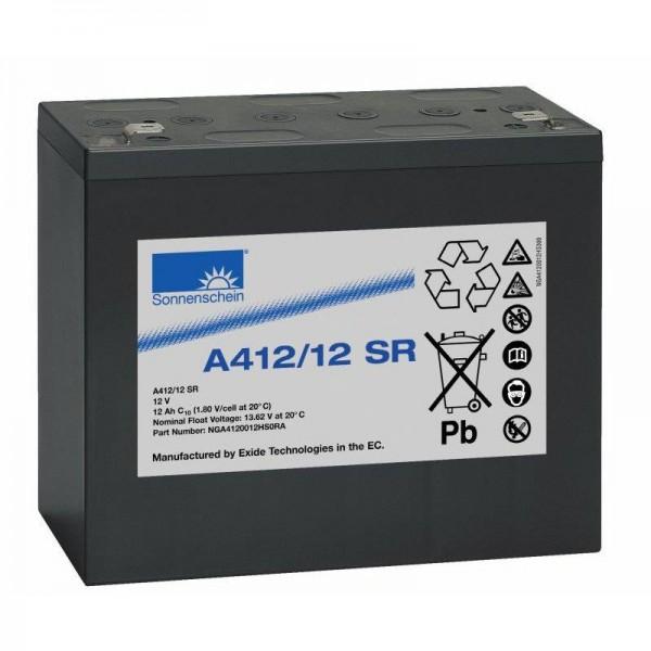 Exide sonnenschein A412/12 SR 12V 12 Ah dryfit loodgel accu VRLA