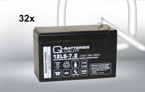 Vervangingsbatterij voor AEG Protect 1.100 BP/brandbatterij met VdS