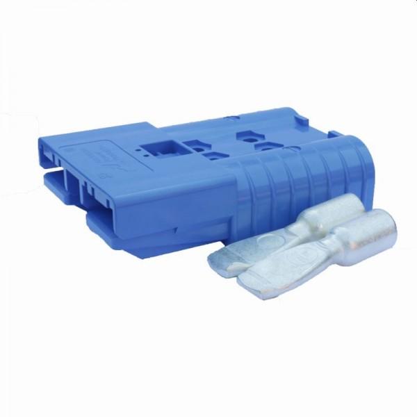 Anderson flat plug SB 175A blauw incl. 2 hoofdcontacten 48 V 53,5 mm² (of vergelijkbaar met Anderson
