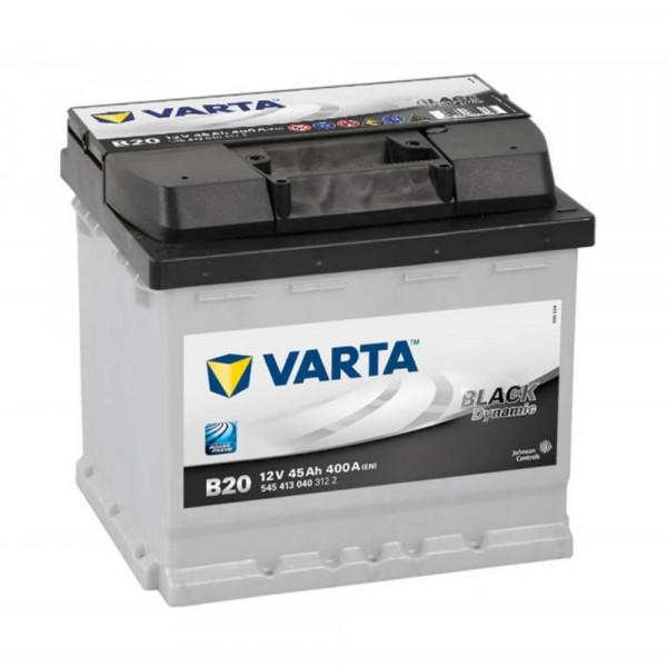 VARTA BLACK Dynamic 545 413 040 3122 B20 12Volt 45 Ah 400A/EN start accu