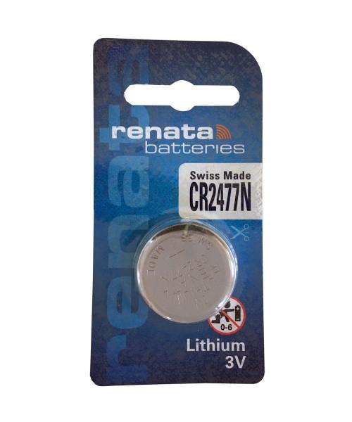 Renata CR2477N CR2477 Knopcel Lithium mangaandioxide (1 blister) UN3090